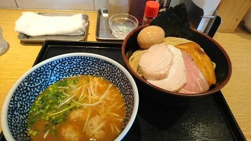 「特製濃厚魚介つけ麺(中) ¥ 1130」@麺屋 一燈の写真