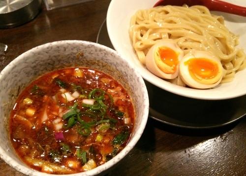 「CURRYつけそば 850円」@立ち呑み居酒屋 金町製麺の写真
