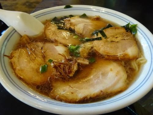 「チャーシュー麺 750円」@峠のラーメンの写真