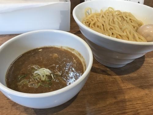 「味玉濃厚ニボつけ麺」@煮干しそば 虎空の写真