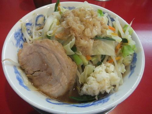 「ベジった!700円(ヤサイニンニクアブラ)」@ジャンクガレッジの写真