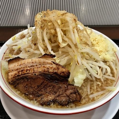 「こってりもやしそば (790円)」@本場博多とんこつラーメン 神 サニーアクシスいの店の写真