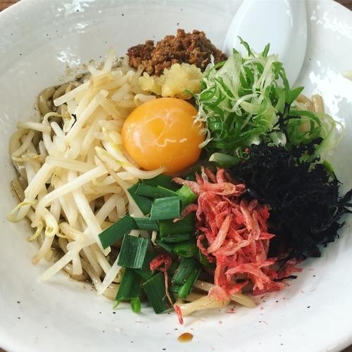 「台湾まぜそば+追い飯」@麺や 福座の写真