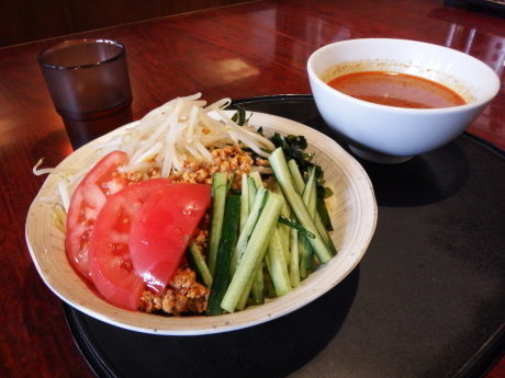 「つけ担々麺」@台湾風味 満福楼の写真