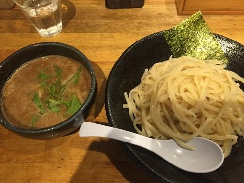 「雀つけ麺」@つけ麺 雀 アメ村本店の写真
