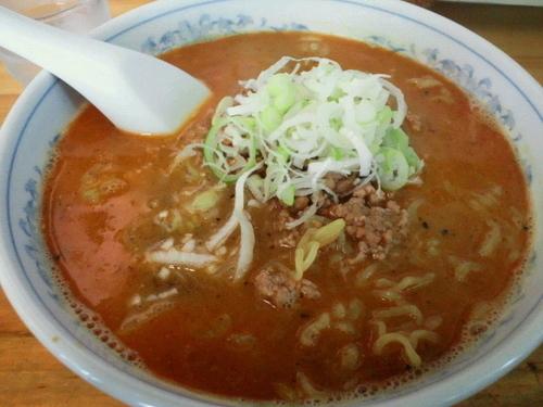 「担々麺 800円」@ら~めん石狩の写真