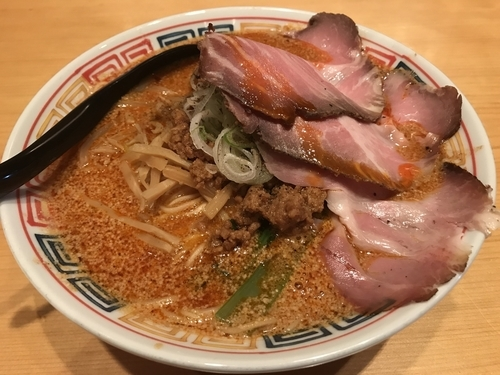 「担々麺 850円 肉増し 250円」@麺ハウス こもれ美の写真