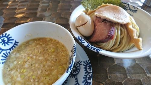 「龍介つけそば(大)+くずれ味玉 ¥ 910」@特級鶏蕎麦 龍介の写真