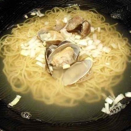「シンプル大粒あさりソバ(細麺) ¥650」@麺 雑草家の写真