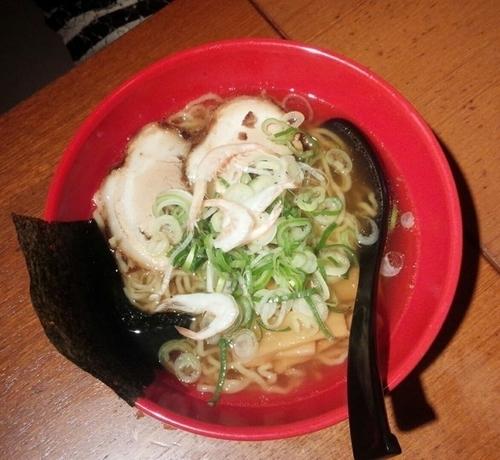 「白エビ塩らーめん770円」@麺家いろは CiC店の写真