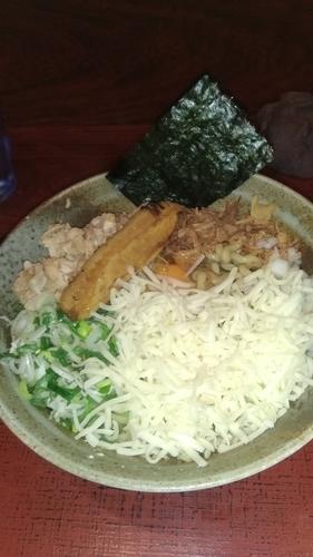 「まぜそばⅢ(渓麺)」@食処 渓の写真