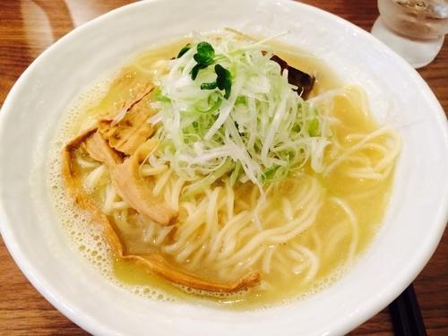 「塩そば 大盛」@麺屋蕪村 上田店の写真