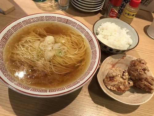 「かけラー定食 600円」@おやつラー専科 チキチキGOGOの写真