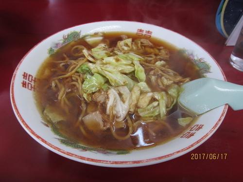 「スープ入り焼きそば並650円」@こばや食堂の写真