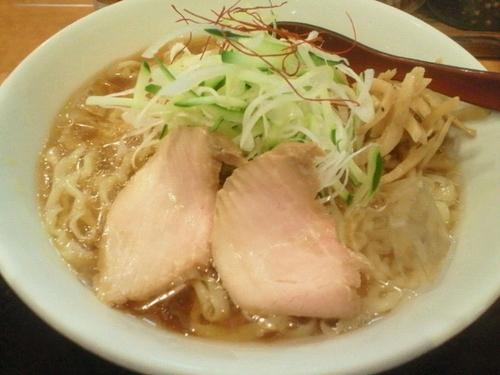 「冷やしらーめん(中盛) 850円」@麺や うから家からの写真