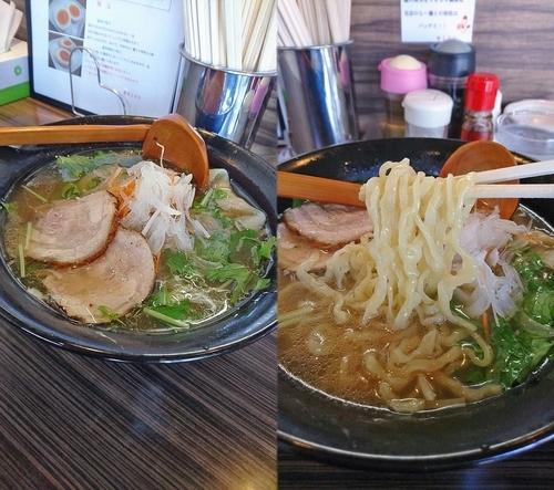「『オマールエビで作ったスープの塩らー麺(¥1150)』」@厚木本丸亭の写真