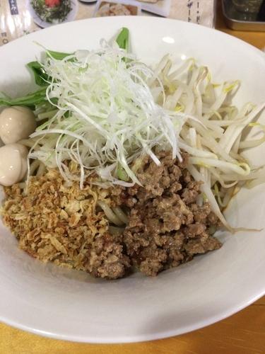 「汁なし担々麺¥800」@麺屋三井の写真
