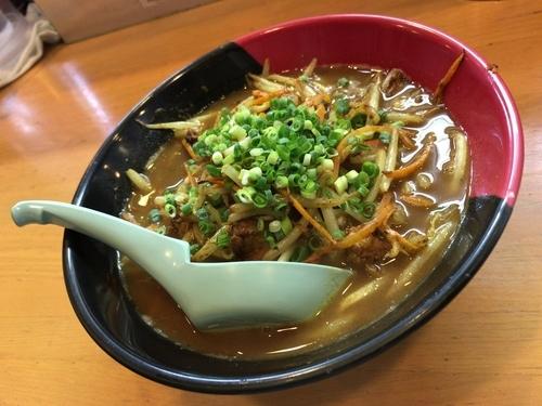 「鶏白湯スパイシーカレー麺Ver2」@麺場 鶏源 TORIGEN 黄金町店の写真
