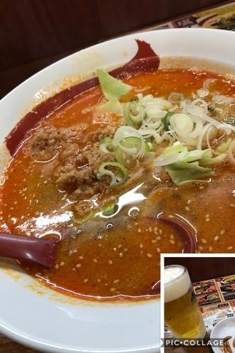 「坦々麺」@ラーメン&らーめん 一代元 勝田店の写真
