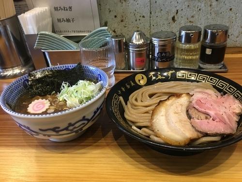 「つけ麺(並)」@中華蕎麦うゑずの写真