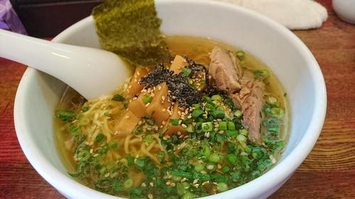 「塩らーめん+餃子 ¥ 980」@ひなたやの写真