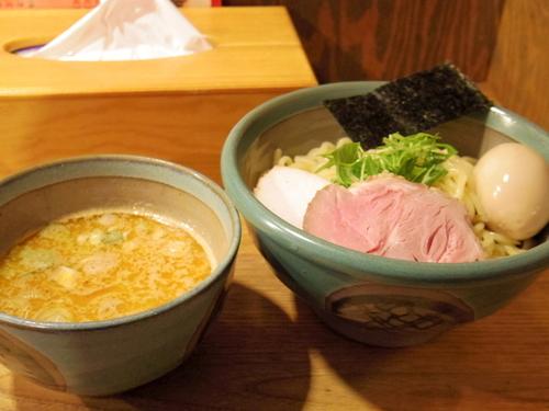 「味玉海老つけ麺」@麺処 三鈷峰の写真