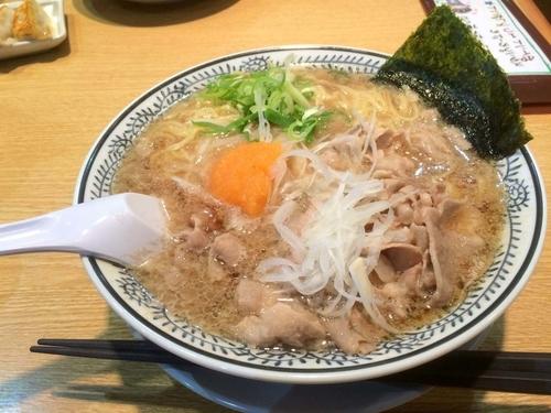 「肉そば」@丸源ラーメン 米子中島店の写真