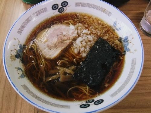 「ラーメン(600円)」@らぁ麺 つねの写真