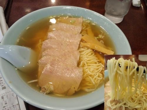 「チャーシュー麺750円」@清華園の写真