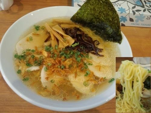 「鶏のせ香味麺880円」@MEN-YA DAISUKEの写真