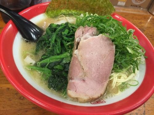 「細麺 + 九条ネギ」@百麺 中山道店の写真