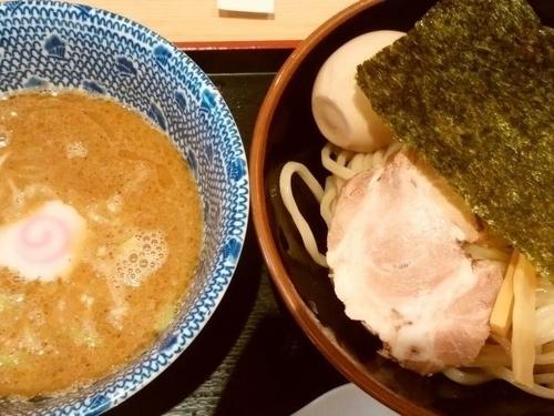 「味玉つけ麺」@舎鈴 亀戸東口店の写真