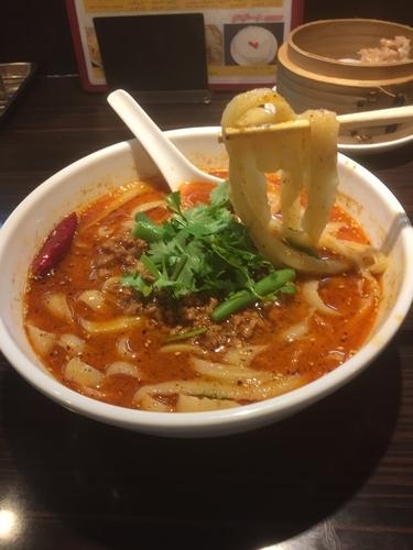 「痺れる辛さのマーラー麺(麻辣刀削麺)¥680」@XI'AN刀削麺 大宮店の写真