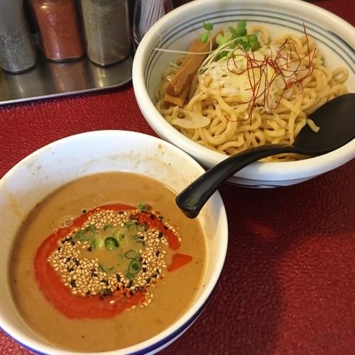 「西京味噌坦々つけ麺」@つるかめ 一乗寺の写真