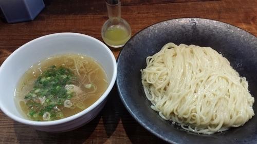 「しおつけ麺~わじまの水塩あえ~900円」@町田汁場 しおらーめん 進化の写真