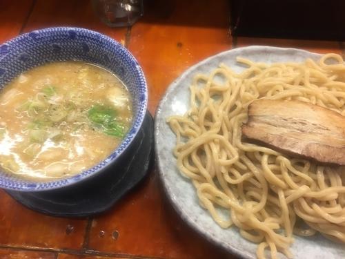 「塩つけ麺・大(880円)」@つけ麺 紫匠乃 門前仲町店の写真
