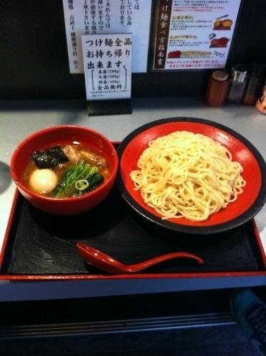 「特製つけ麺」@麺処 古武士 板橋前野町店の写真