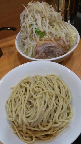 「なみのりつけ麺(限定)」@ラーメン二郎 八王子野猿街道店2の写真