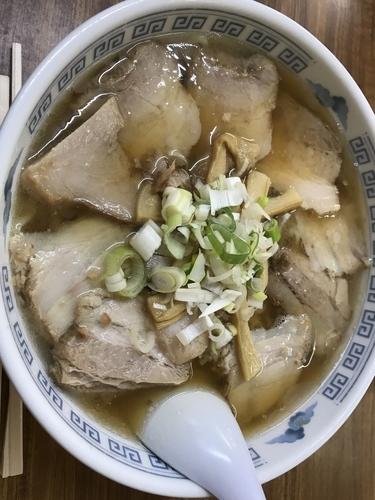 「チャーシューメン」@松 食堂の写真