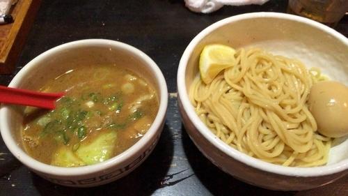 「牛ホルモンつけ麺」@麺専門店 つけ麺屋ちっちょの写真