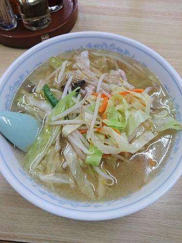 「タンメン 590円」@昇龍飯店の写真