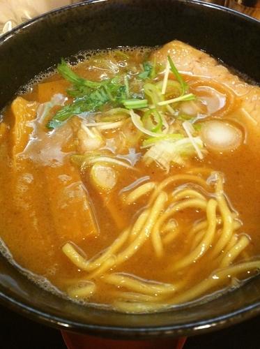「Wラーメン」@麺や拓 堀江本店の写真