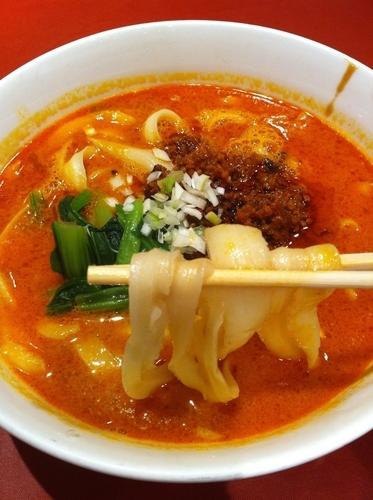 「四川坦々刀削麺」@四川料理 京華樓 別館の写真