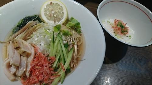 「【限定】海老の出汁冷やしそば(中) ¥ 900」@つけ麺 一燈の写真