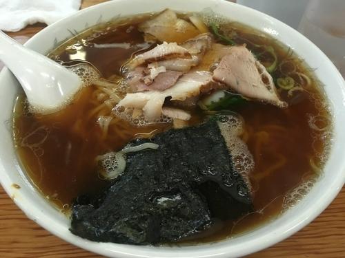 「らーめん大盛りチャーシュー」@青島食堂 宮内店の写真