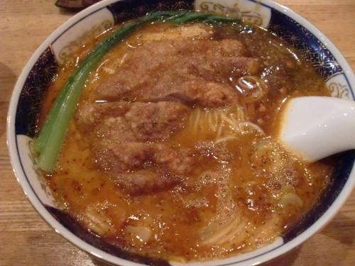 「ぱーこーだんだん麺」@支那麺屋よかろう 虎の門店の写真