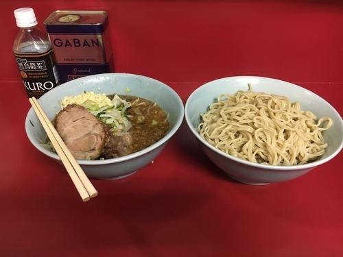 「ぎょったまつけ麺 ➕ ニンニクマシマシ」@ラーメン二郎 中山駅前店の写真