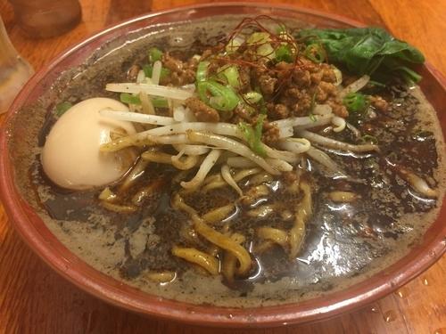 「黒鉄担々麺 辛さ2倍 980円」@東京担々麺 ゴマ哲の写真