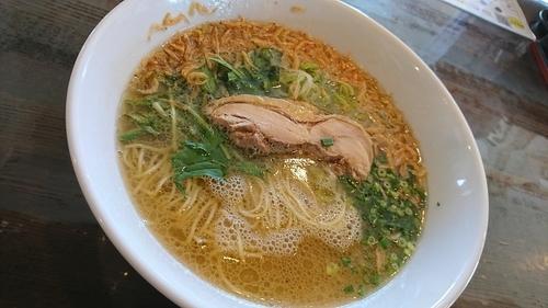 「海老出汁塩拉麺」@なかじゅう亭 高崎上豊岡店の写真