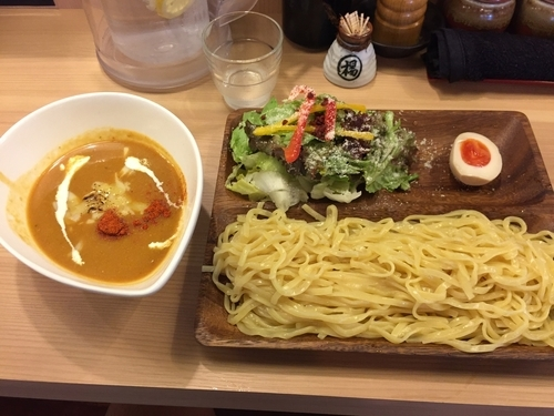 「空・炙りチーズ+麺大盛(¥950+無料)」@辛麺 真空 相模大野店の写真